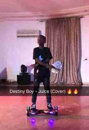 Destiny Boy - Juice (Ycee Cover)